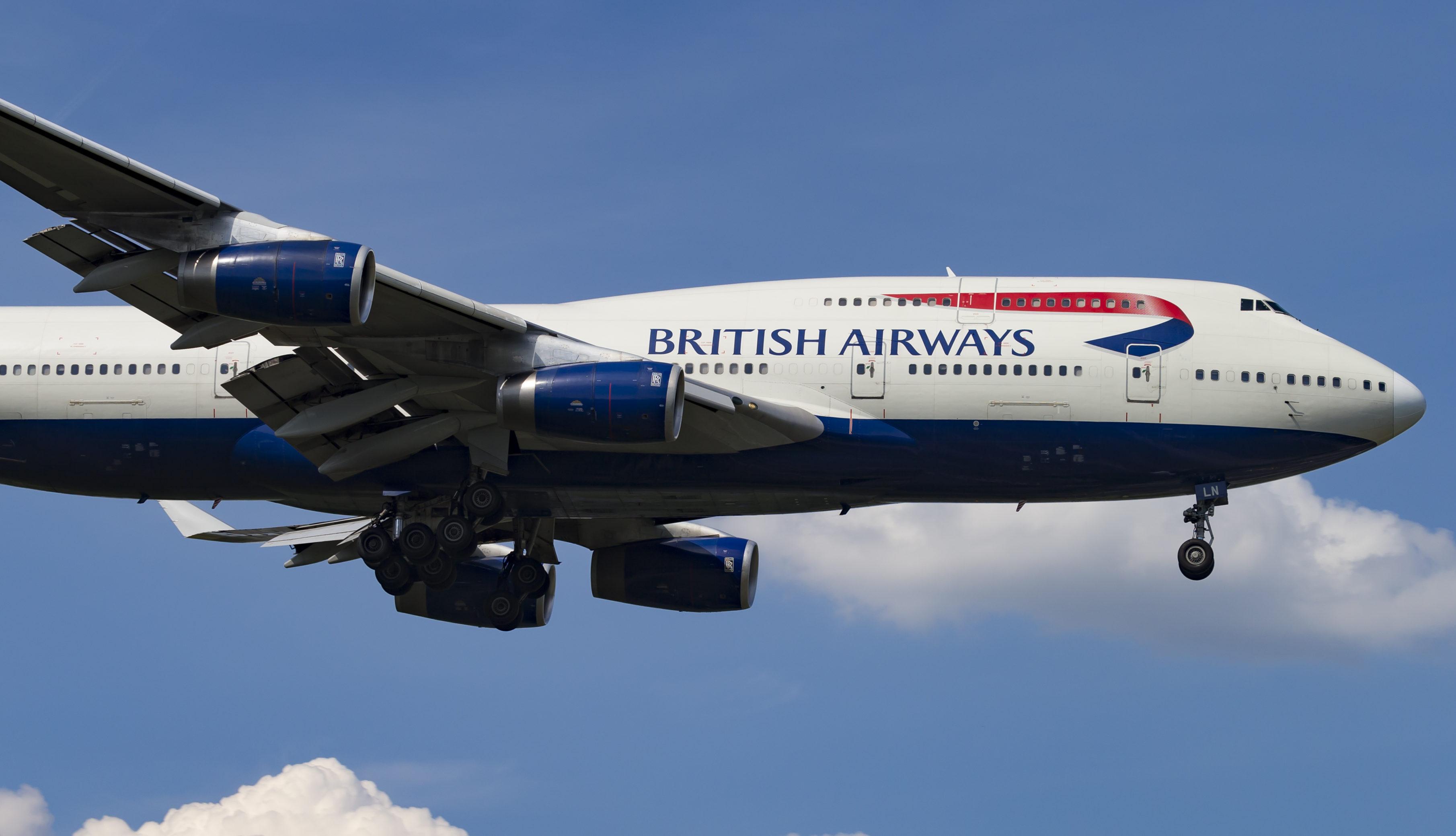 En Boeing 747-400 fra British Airways. Foto: © Thorbjørn Brunander Sund, Danish Aviation Photo