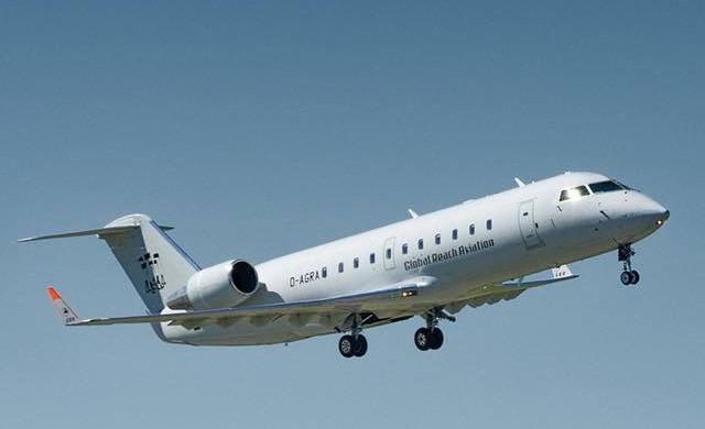 Bombardier CRJ200 fra Global Reach Aviation (Foto: Global Reach Aviation/PR)