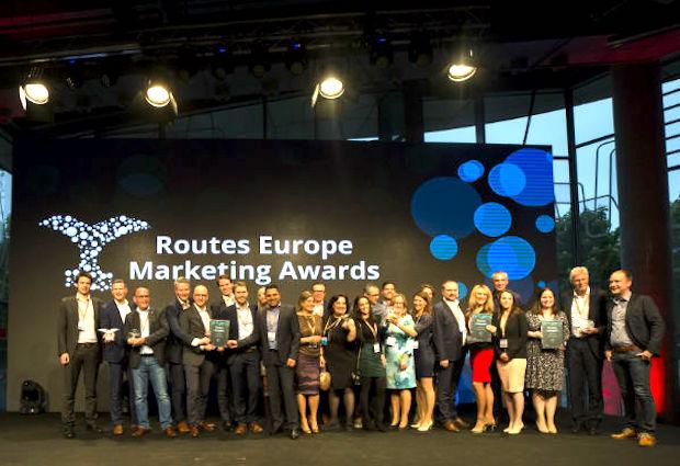 Vinderne af Routes Europe Marketing Awards 2018.