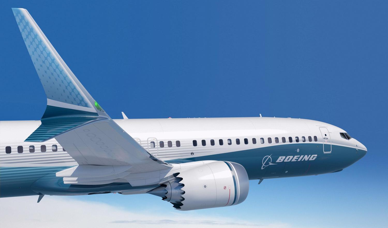 En Boeing 737 MAX 8 har savtakket motorskjold og dobbelt winglets, hvilket skiller sig ud fra en traditionel Boeing 737-800. Foto: Boeing