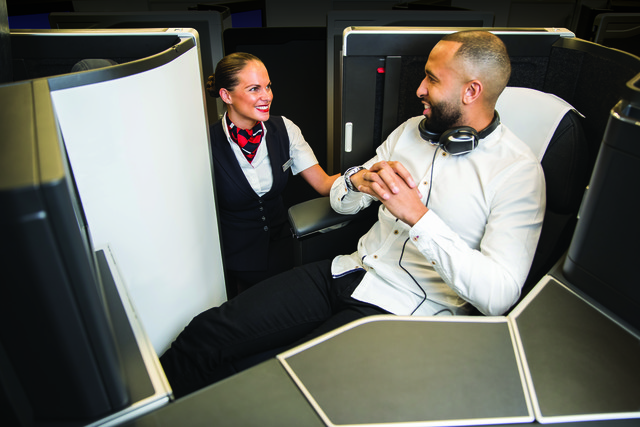 Club Suite i Airbus A350 hos British Airways. (Foto: British Airways/PR)