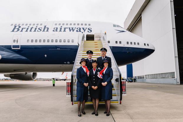 British Airways' Boeing 747-400 i det historiske Negus-design. (Foto: British Airways)