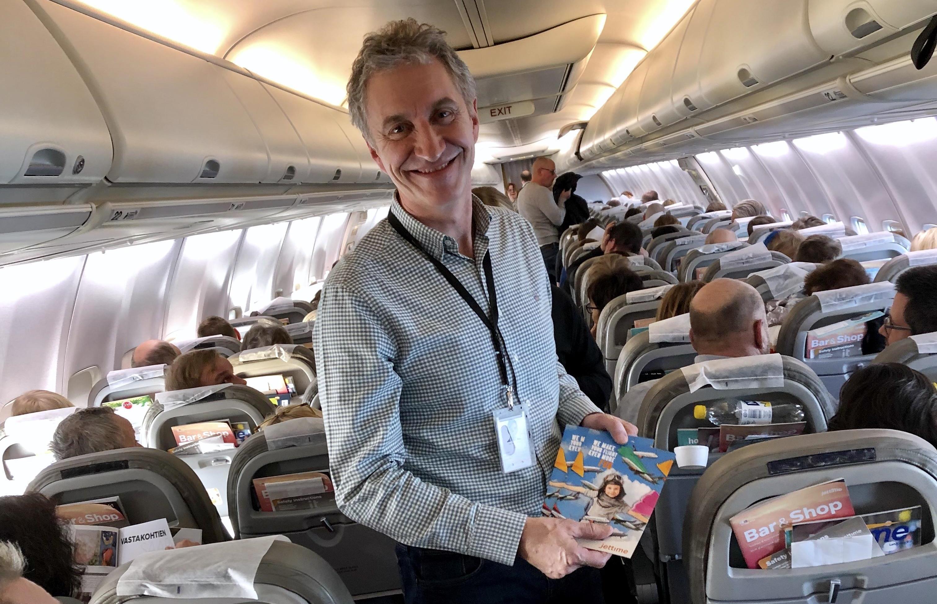 Adm. direktør Jørgen Holme fra Jet Time. (Foto: Jet Time/PR)