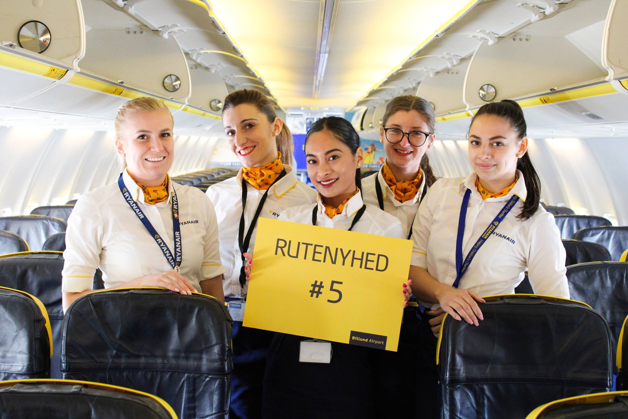 Ryanair-ruten til Prag er årets femte rutenyhed fra Billund Lufthavn. (Foto: Billund Lufthavn/PR)