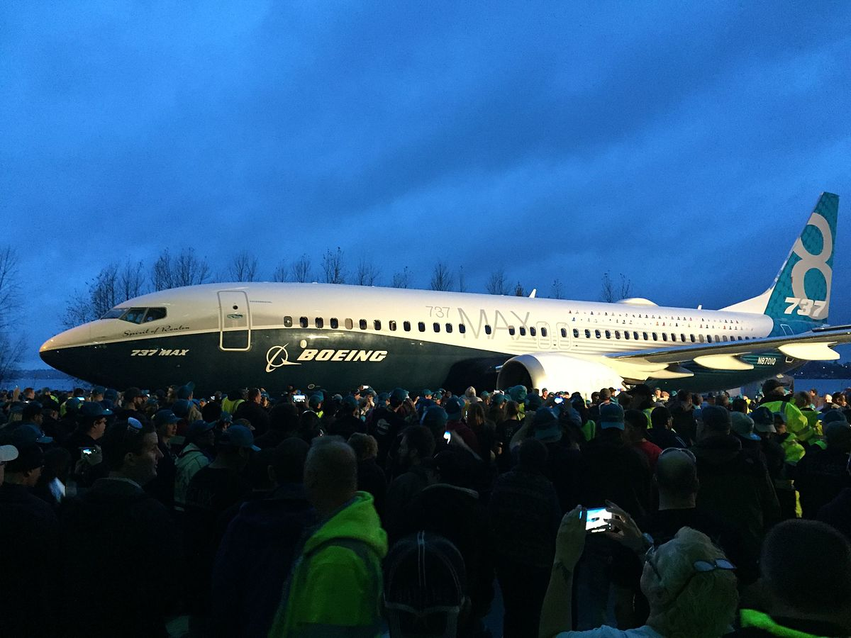 Første Boeing 737 MAX blev præsenteret i december 2015. (Foto: Aka The Beav | CC 2.0)