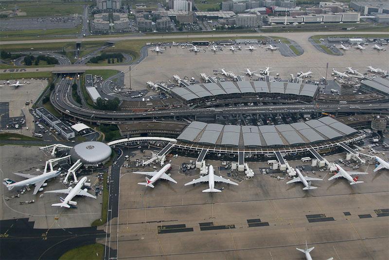 Terminal 2A og 2B i Paris Charles de Gaulle Airport. (Foto: Fyodor Borisov | CC 3.0)