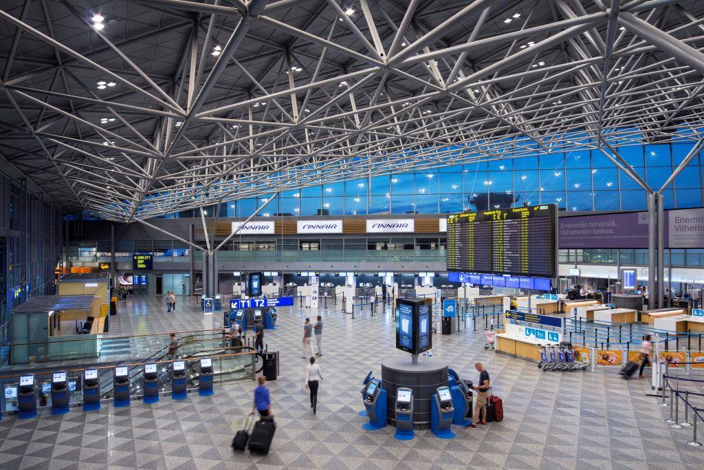 Afgangshallen i Terminal 2 i Helsinki Airport (Foto: Finavia/PR)