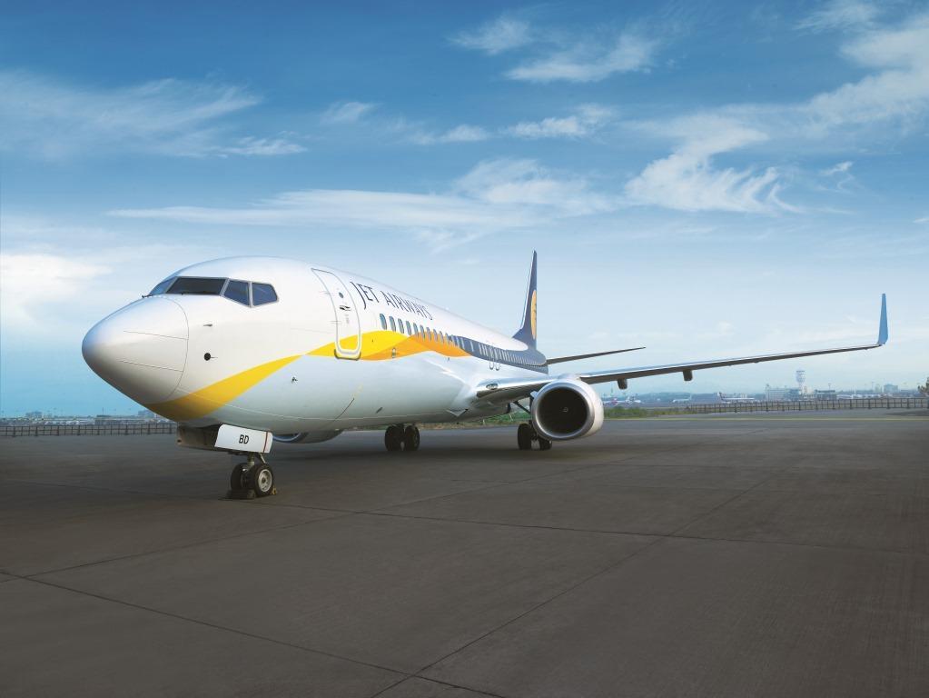 Boeing 737-800 fra Jet Airways. (Foto: Jet Airways/PR)