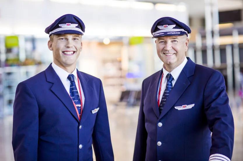 Piloter i Norwegian (Foto: Norwegian/PR)