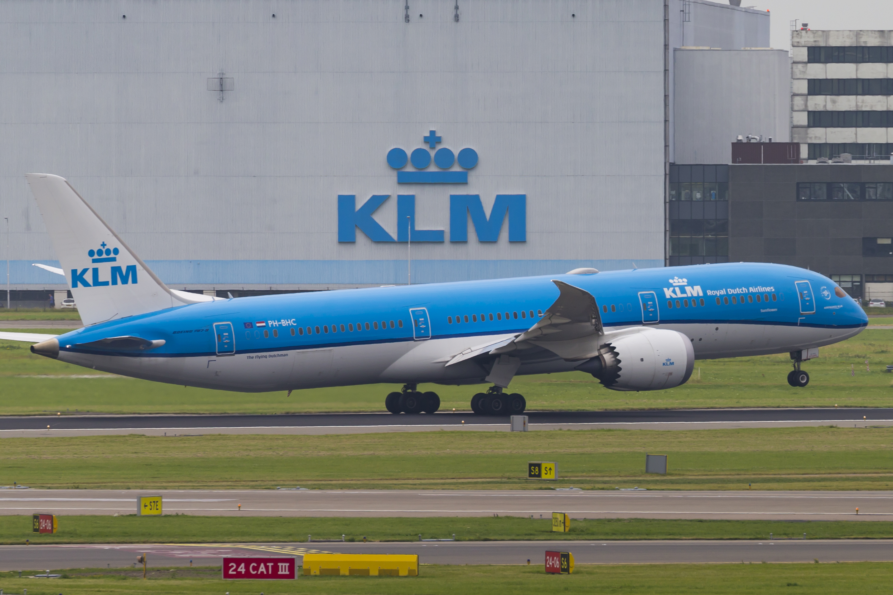 En Boeing 787-9 Dreamliner fra KLM. Foto: © Thorbjørn Brunander Sund, Danish Aviation Photo