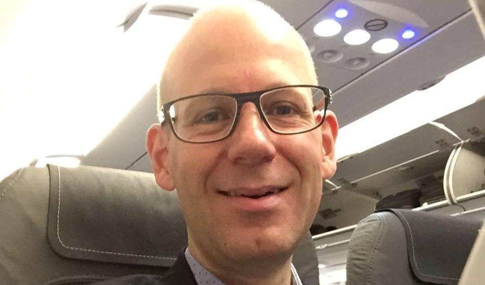Peter V. Ekstrøm, ny bestyrelsesformand i Aarhus Lufthavn. (Privatfoto)