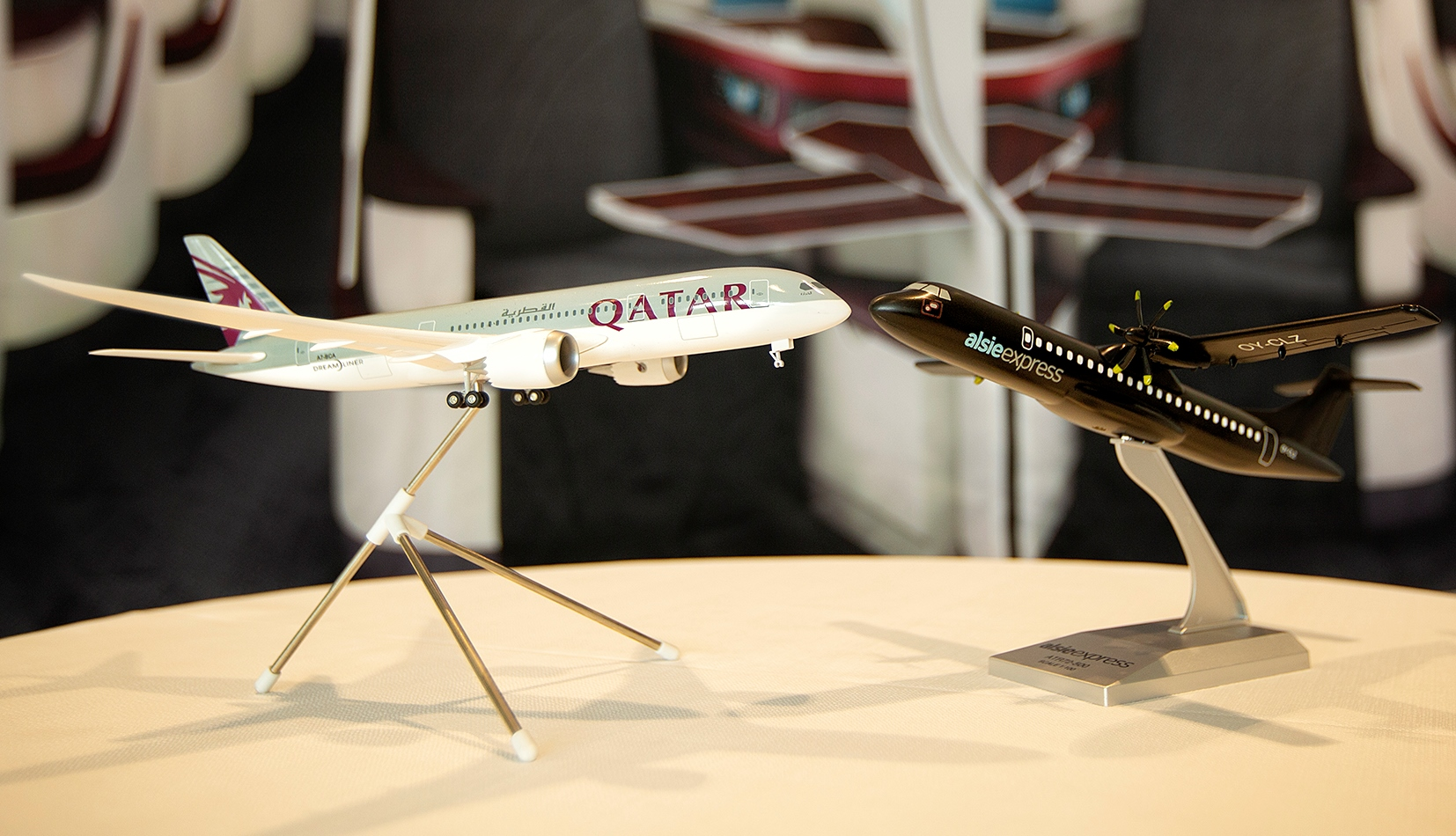 Qatar Airways og Alsie Express er i tæt samarbejde. (Foto: Alsie Express/PR)