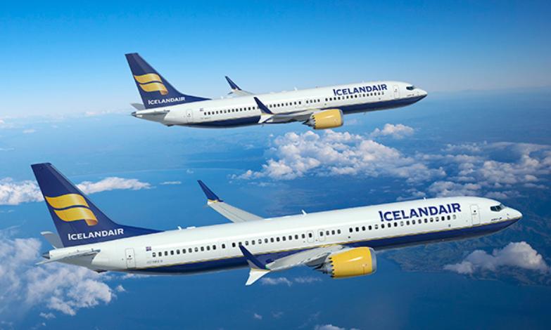 Icelandair Boeing 737 MAX (Arkivfoto: Boeing/PR)