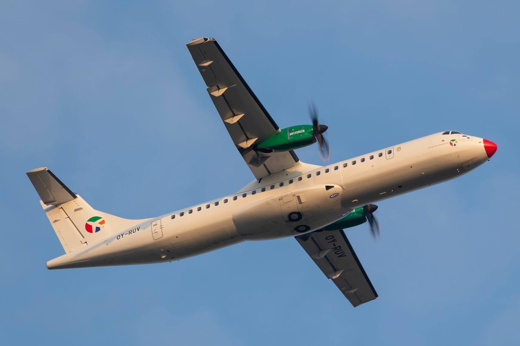 ATR 72-600 fra DAT. (Foto: © Thorbjørn Brunander Sund | Danish Aviation Photo)
