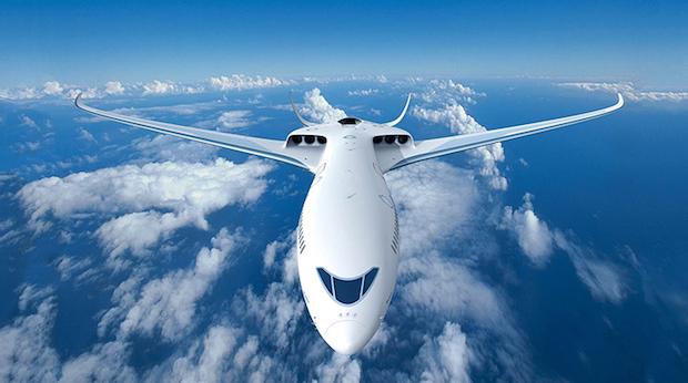 Et bud på fremtidens elfly fra Airbus.