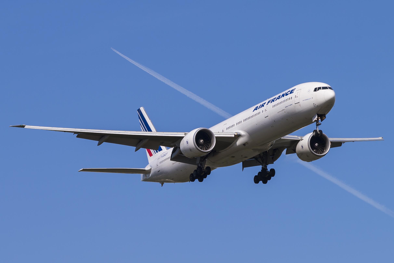 En Boeing 777-300ER fra Air France. Foto: © Thorbjørn Brunander Sund, Danish Aviation Photo