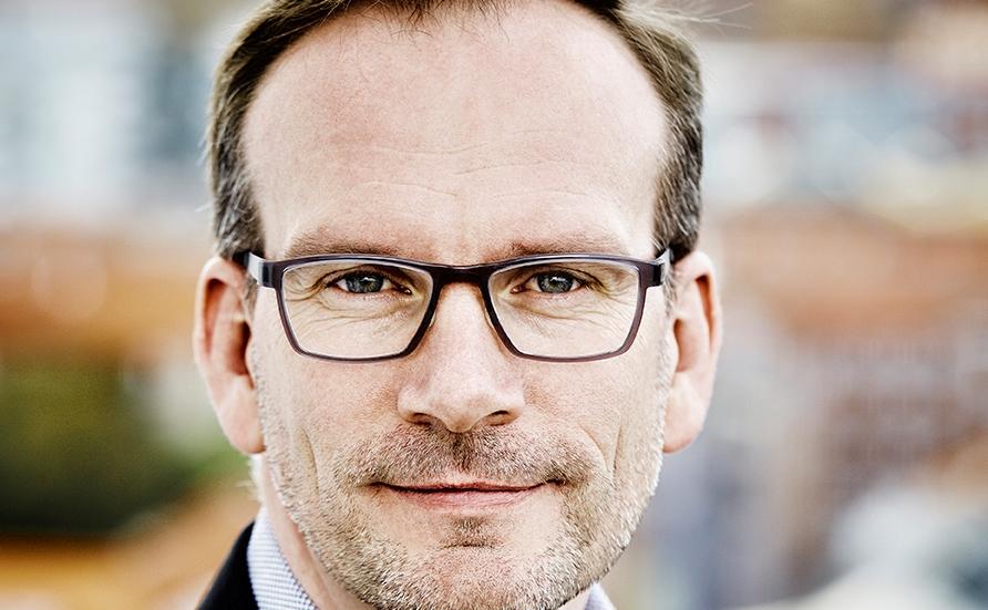Adm. direktør Peer H. Kristensen, Aarhus Lufthavn. (Foto: Anne Kring)