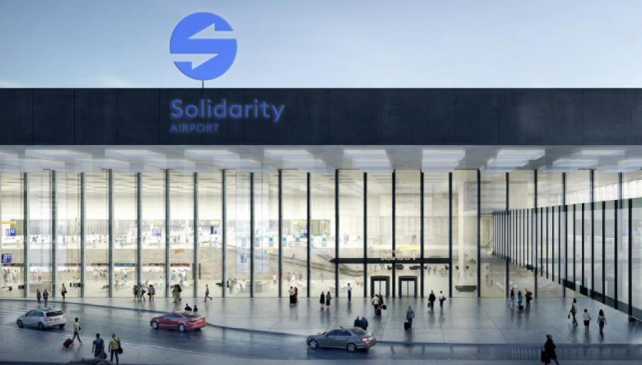 Solidarity Airport (Foto: Solidarity Transport Hub Poland)