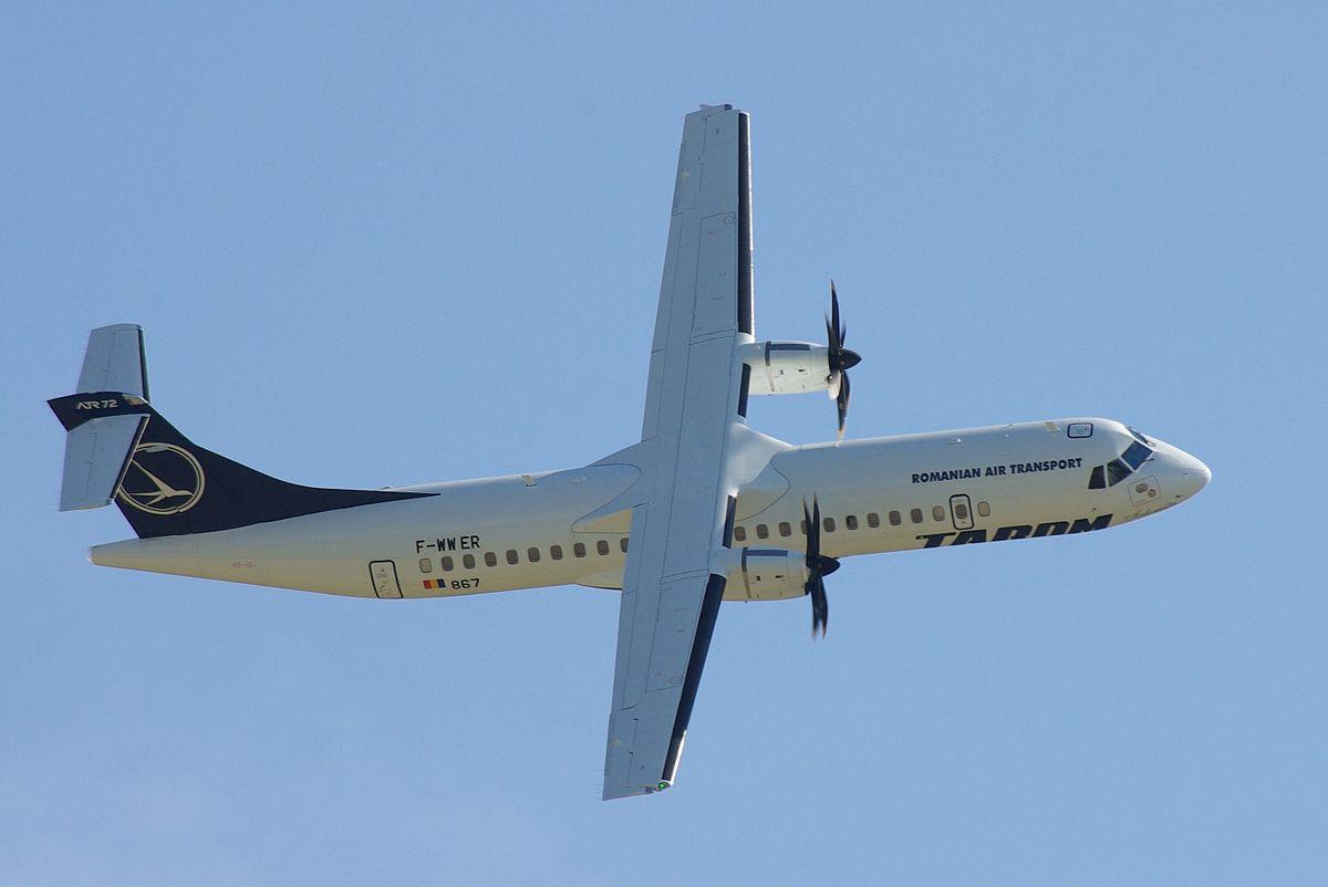 TAROM har i dag to ATR 72-500 (Foto:; Duch.seb | CC 3.0)