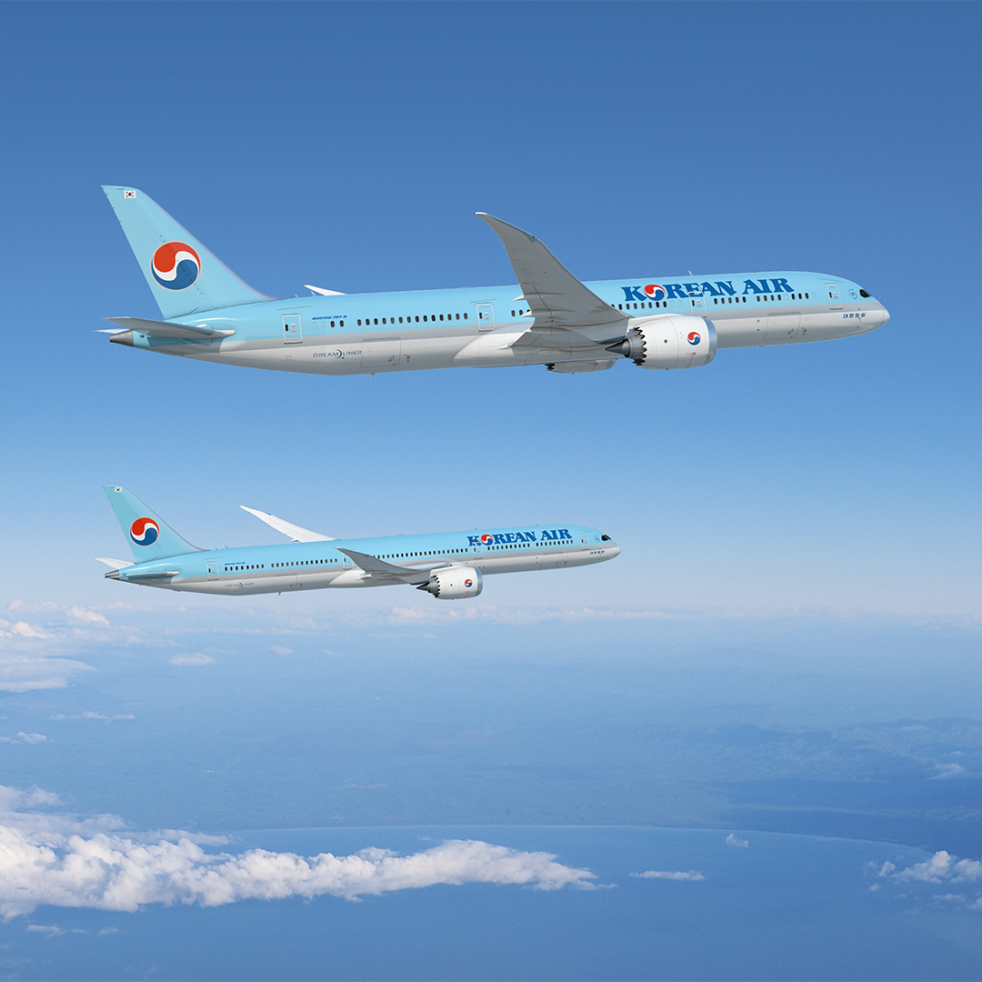 Korean Air 787 Dreamlinere (Illustration: Boeing)