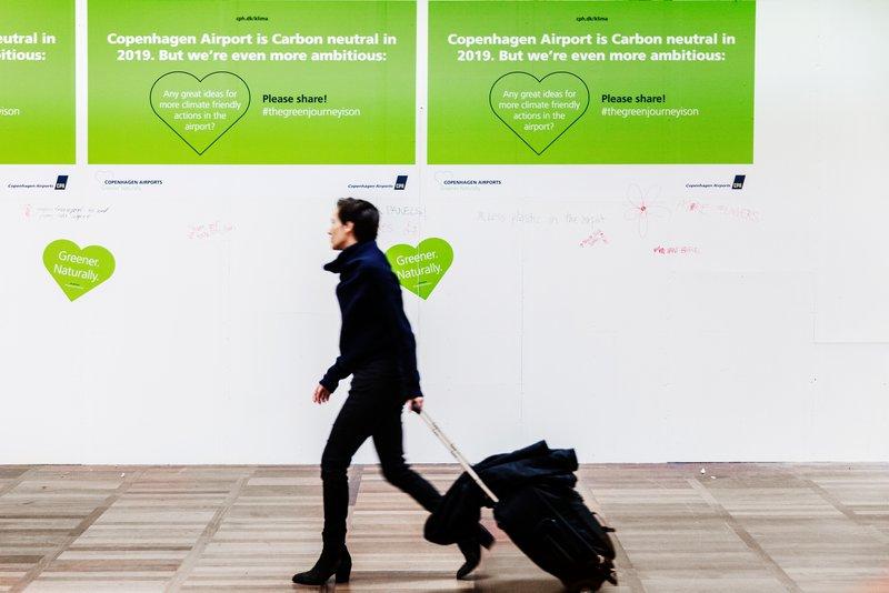 Københavns Lufthavn er CO2-neutral fra 2019. (Foto: Jesper Carlberg/CPH)