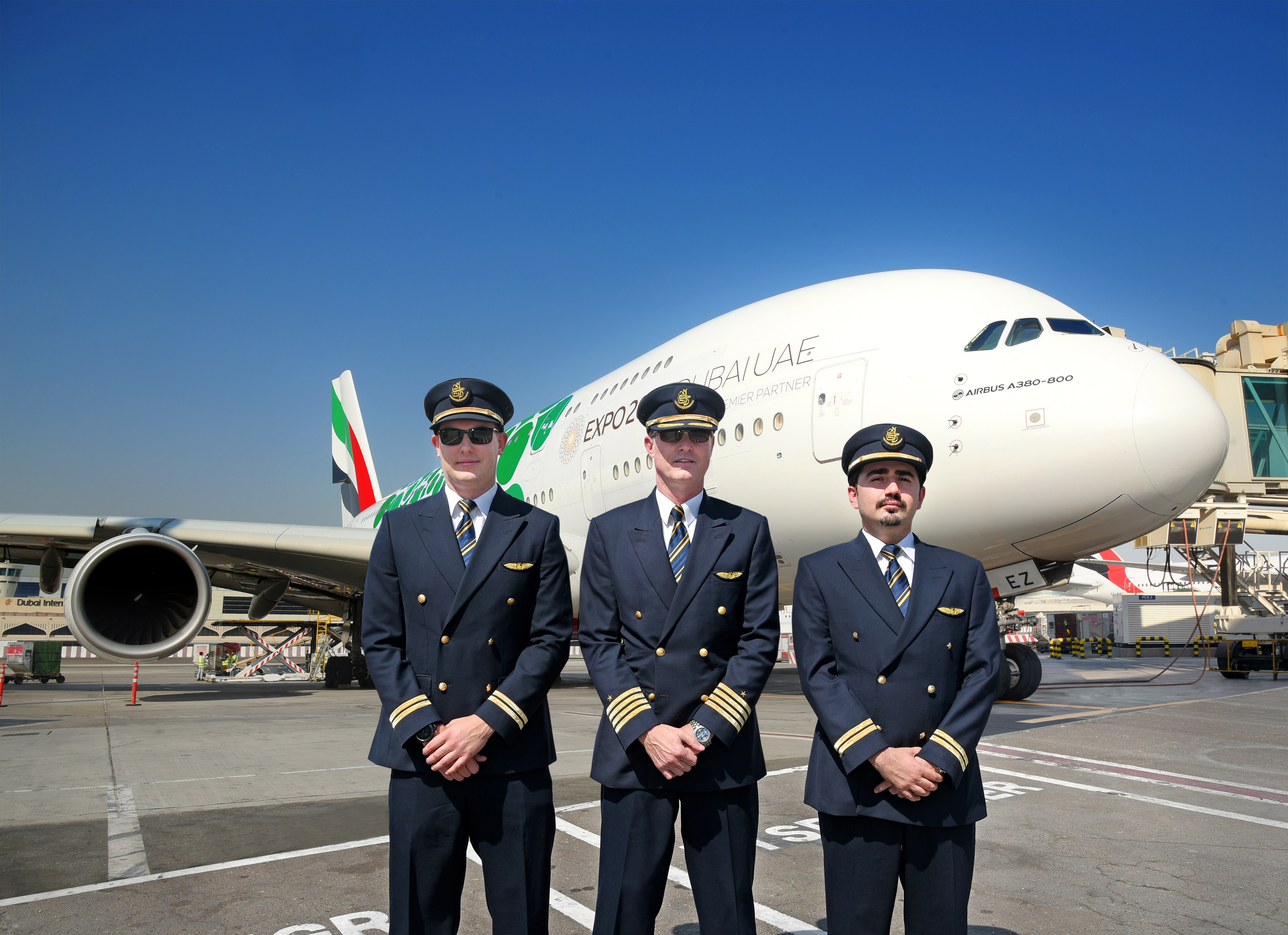 Emirates har lanceret verdens korteste rute med en Airbus A380. Foto: Emirates