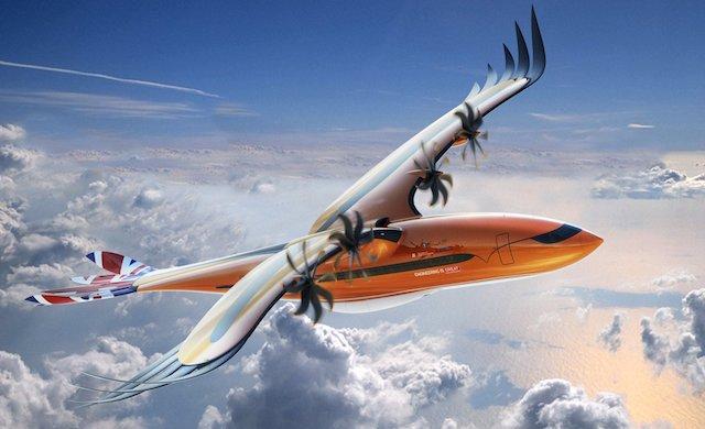 Det nye konceptfly fra Airbus.