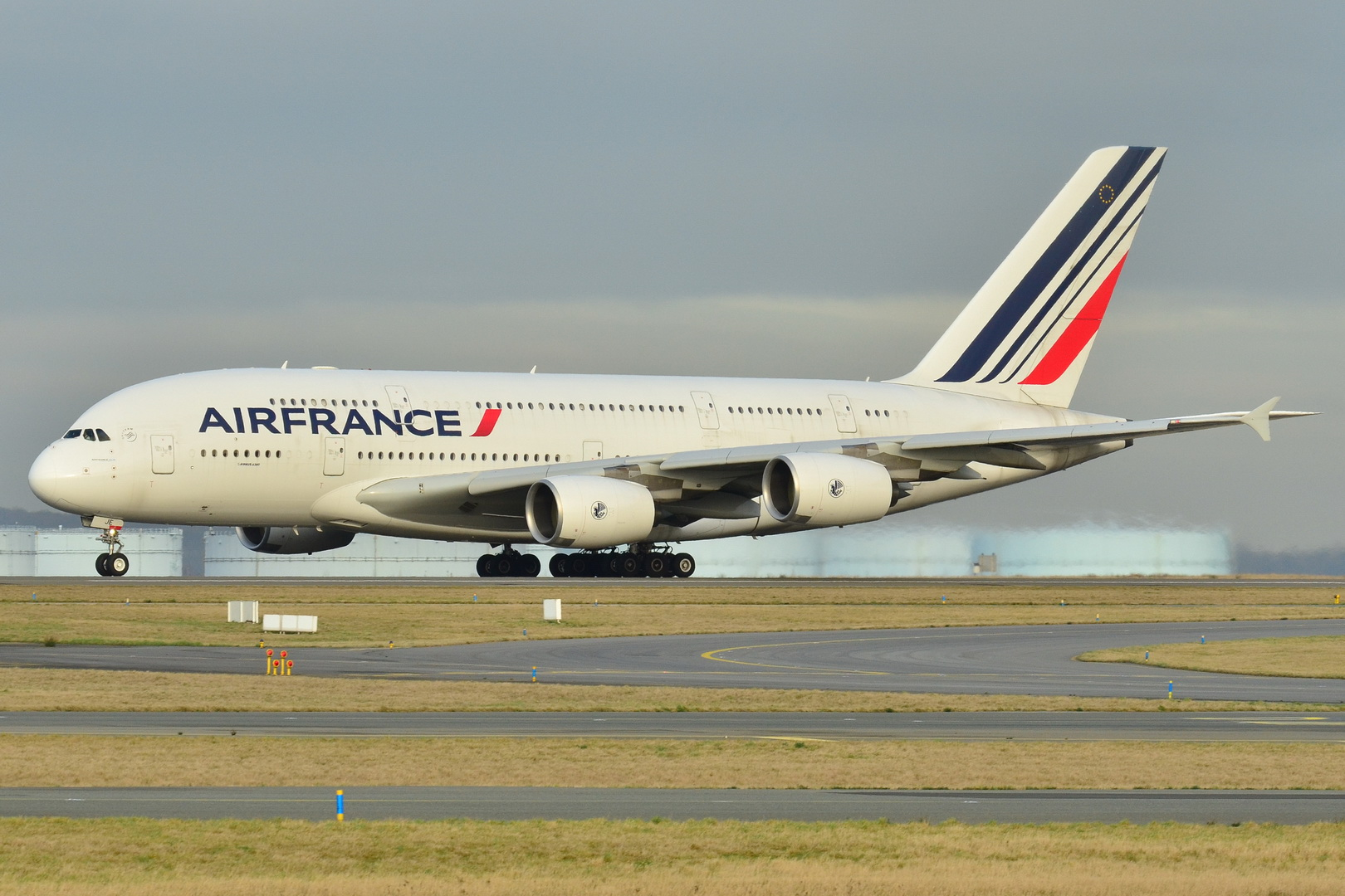 En Airbus A380-800 fra Air France. Foto: Laurent Errera
