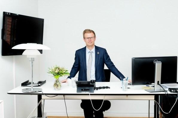 Transportminister Benny Engelbrecht (Foto: Claus Bech)