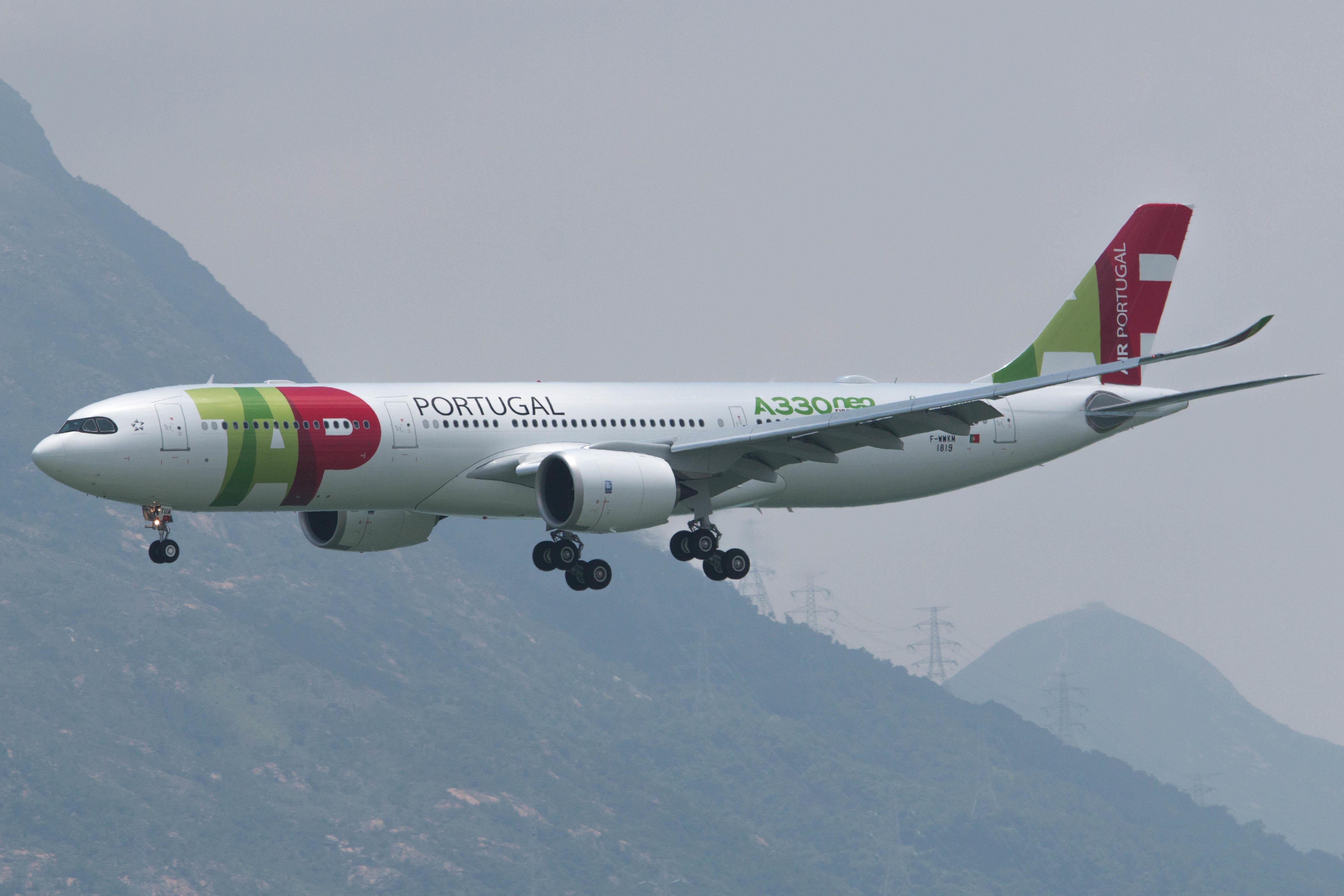 Den første Airbus A330-900neo til TAP Air Portugal. Foto: km30192002