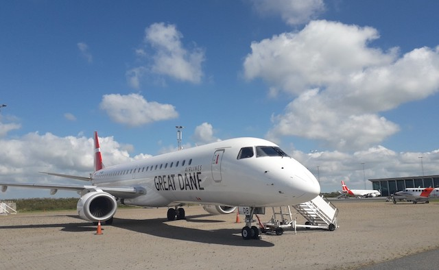 Great Dane Airlines-fly i Aalborg Lufthavn (Foto: Great Dane Airlines)