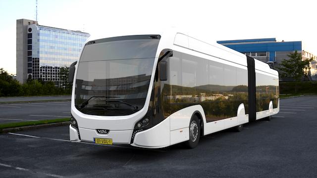 Det er el-busser af denne type, der kommer til at køre i Oslo Lufthavn.