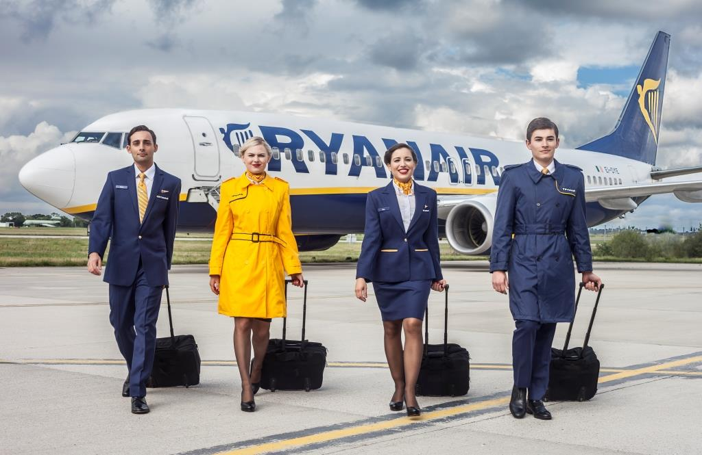 Ryanair cabin crew (Foto: Ryanair/PR)