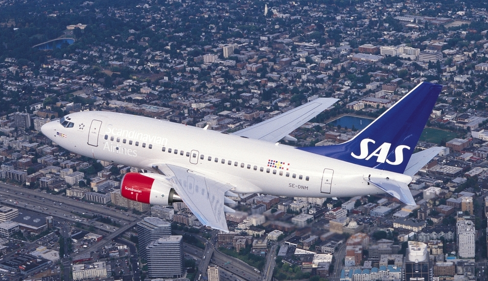 Boeing 737-600 fra SAS (Foto: SAS AB/PR)