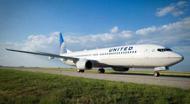 Boeing 737 fra United. (Foto: United Airlines)