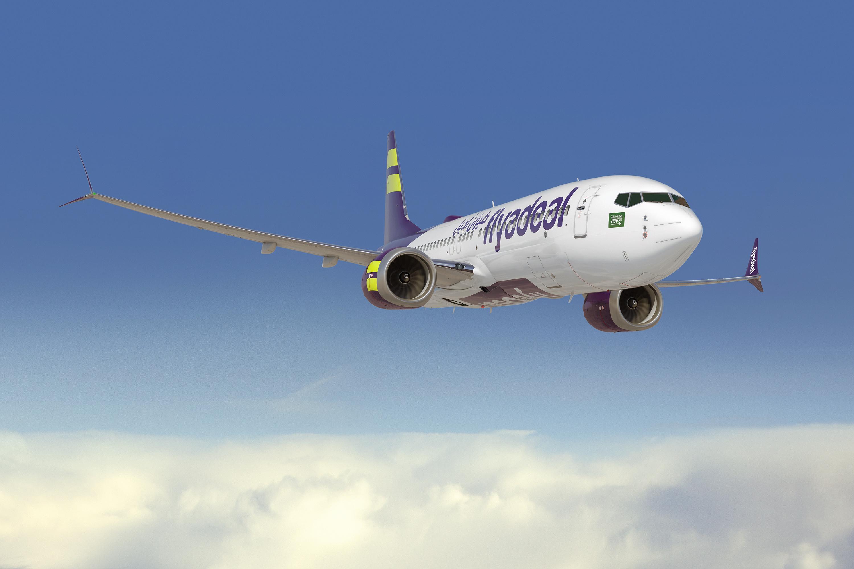 Boeing 737 MAX i flyadeal farver (Illustration: Boeing)