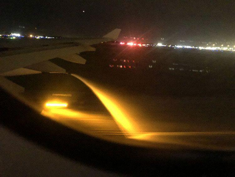 En Airbus A340-300 fra Hi Fly fløj på vegne af Norwegian, da det lækkede brændstof under en sikkerhedslanding i Orlando. Foto: Judy Watson Tracy