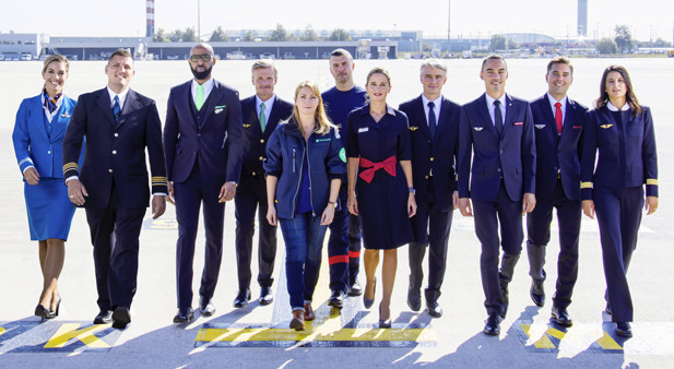 Personalegrupper fra Air France og KLM (Foto: Air France-KLM/PR)