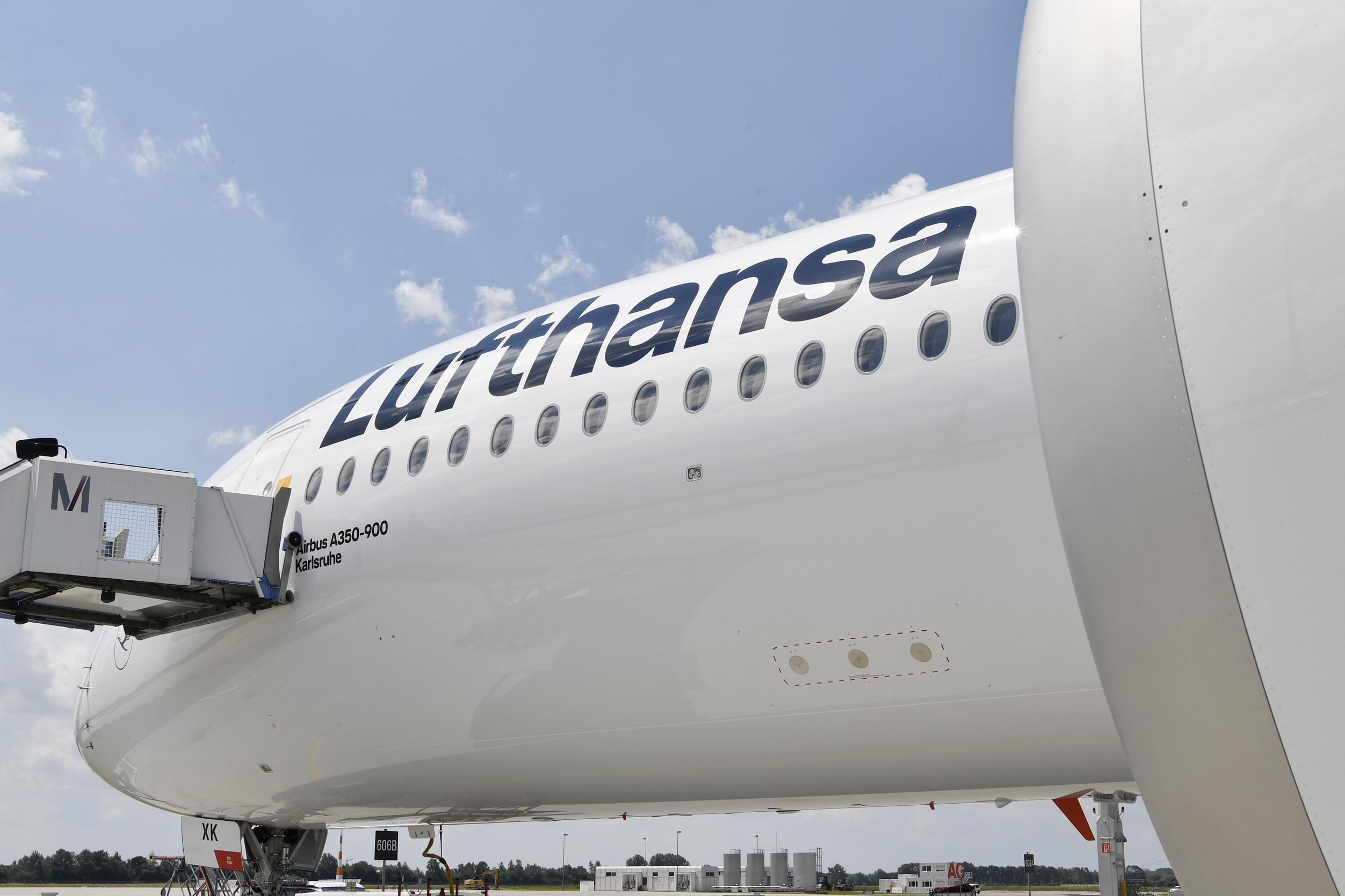 Lufthansa Airbus A350-900 i München Lufthavn. (Foto: Alex Tino Friedel ATF Pictures/Lufthansa PR)