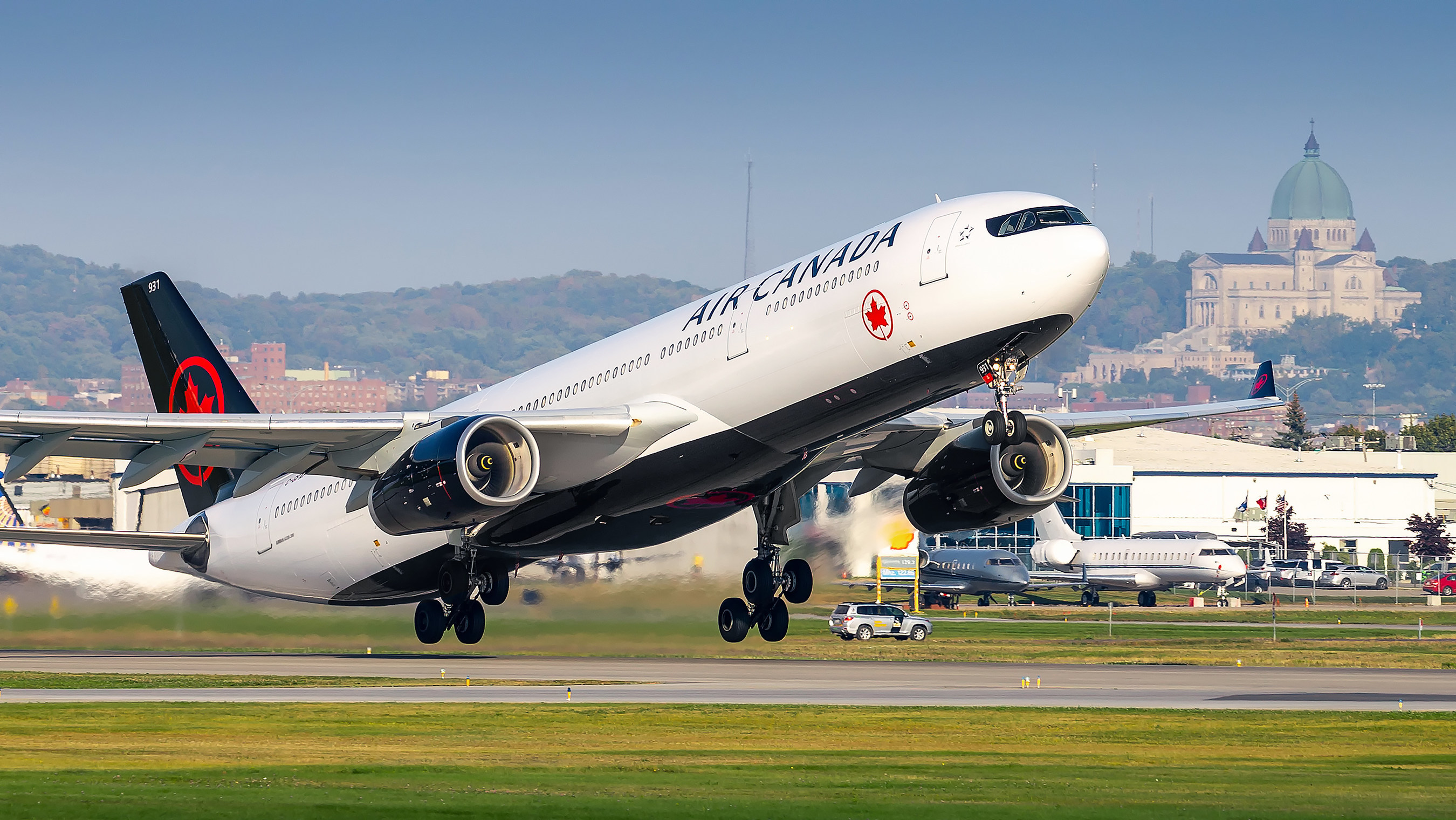 Airbus A330-300 fra Air Canada. (Foto: CNW Group/Air Canada)