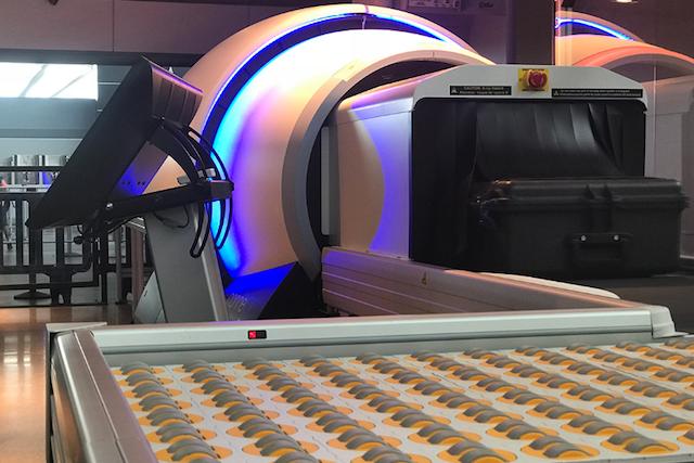 3D-scanner i amerikansk lufthavn. (Foto: American Airlines)