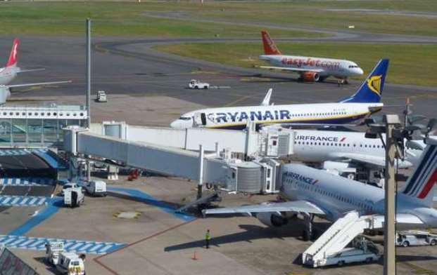 Ryanair-fly i Montpellier Airport (Foto: Montpellier Tourism)