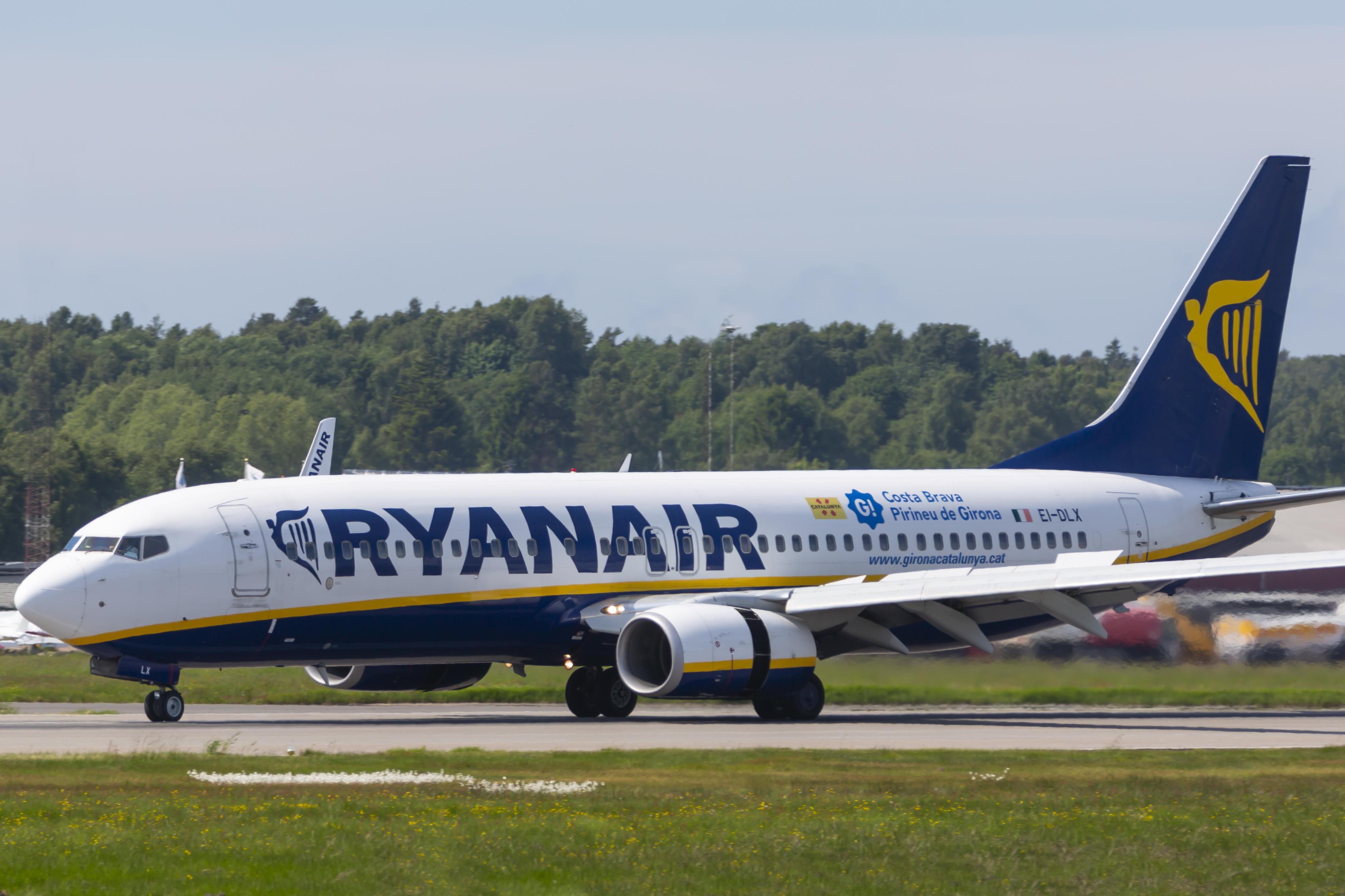 En Boeing 737-800 fra Ryanair. Foto: © Thorbjørn Brunander Sund, Danish Aviation Photo