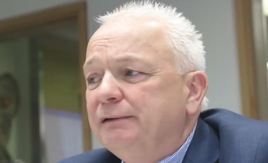 Eddie Wilson, administrerende direktør for Ryanair DAC. (Foto Travel Extra)