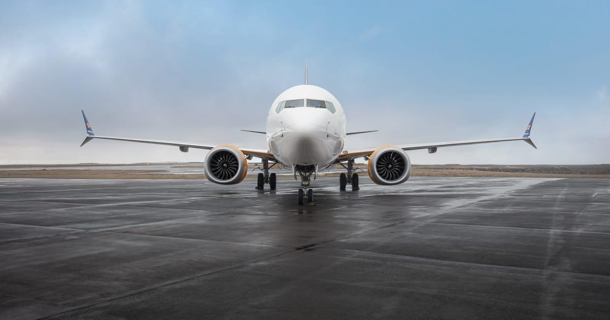 Boeing 737 MAX fra Icelandair. (Foto: Icelandair | PR)