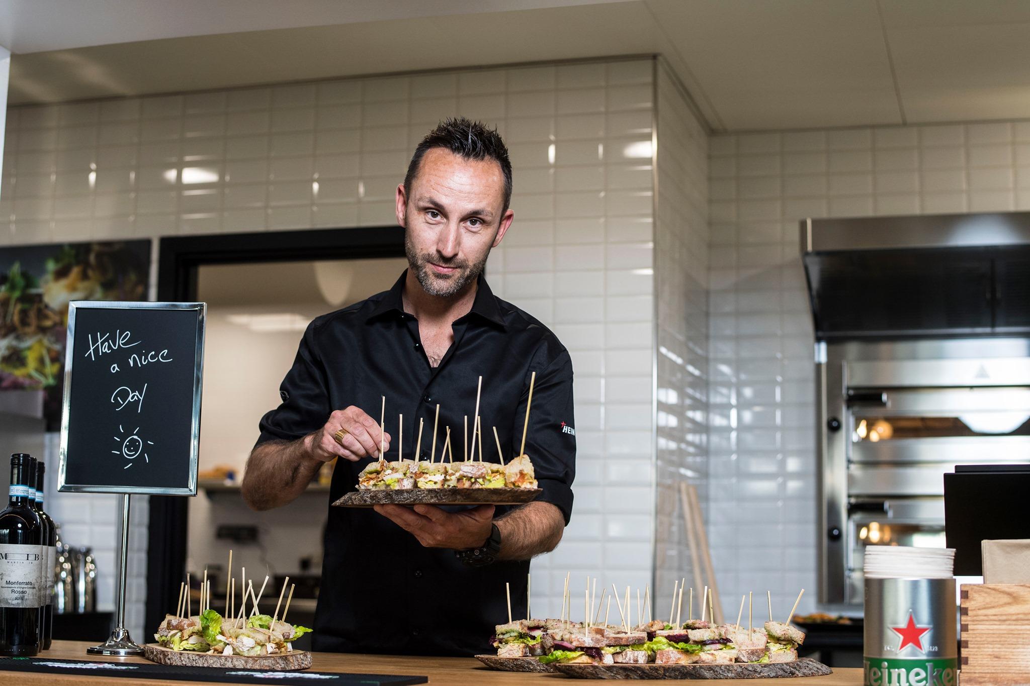 Restauratør Martin Ib driver to caféer og Restaurant MIB Aarhus Airport. (Foto: Aarhus Lufthavn | PR)