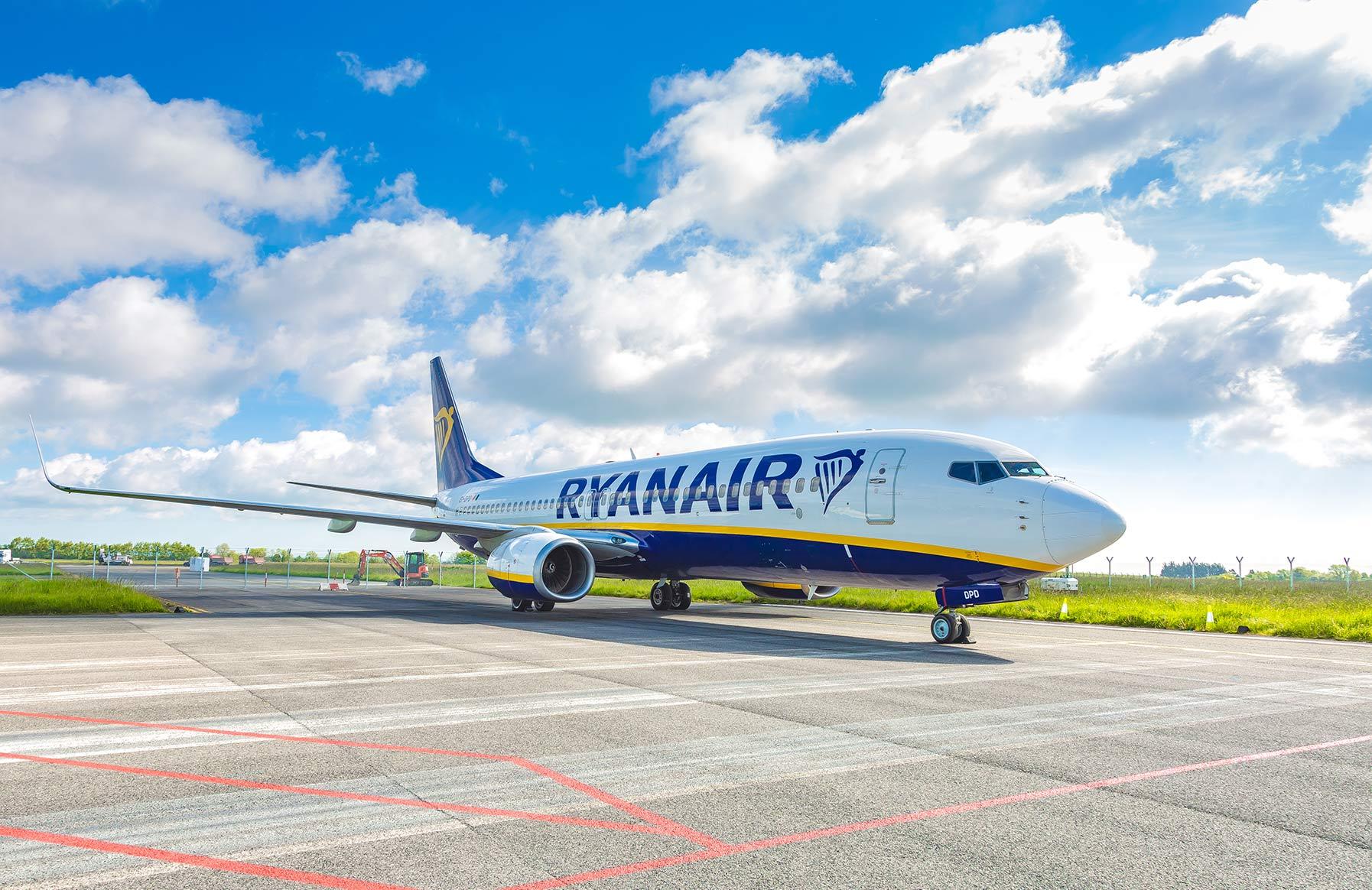 Boeing 737-800 fra Ryanair. (Foto: Ryanair/PR)
