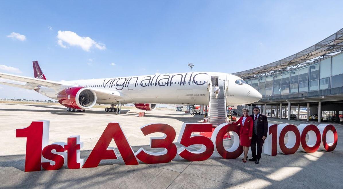 Virgin Atlantic har fået leveret den første Airbus A350-1000 XWB. Foto: Virgin Atlantic