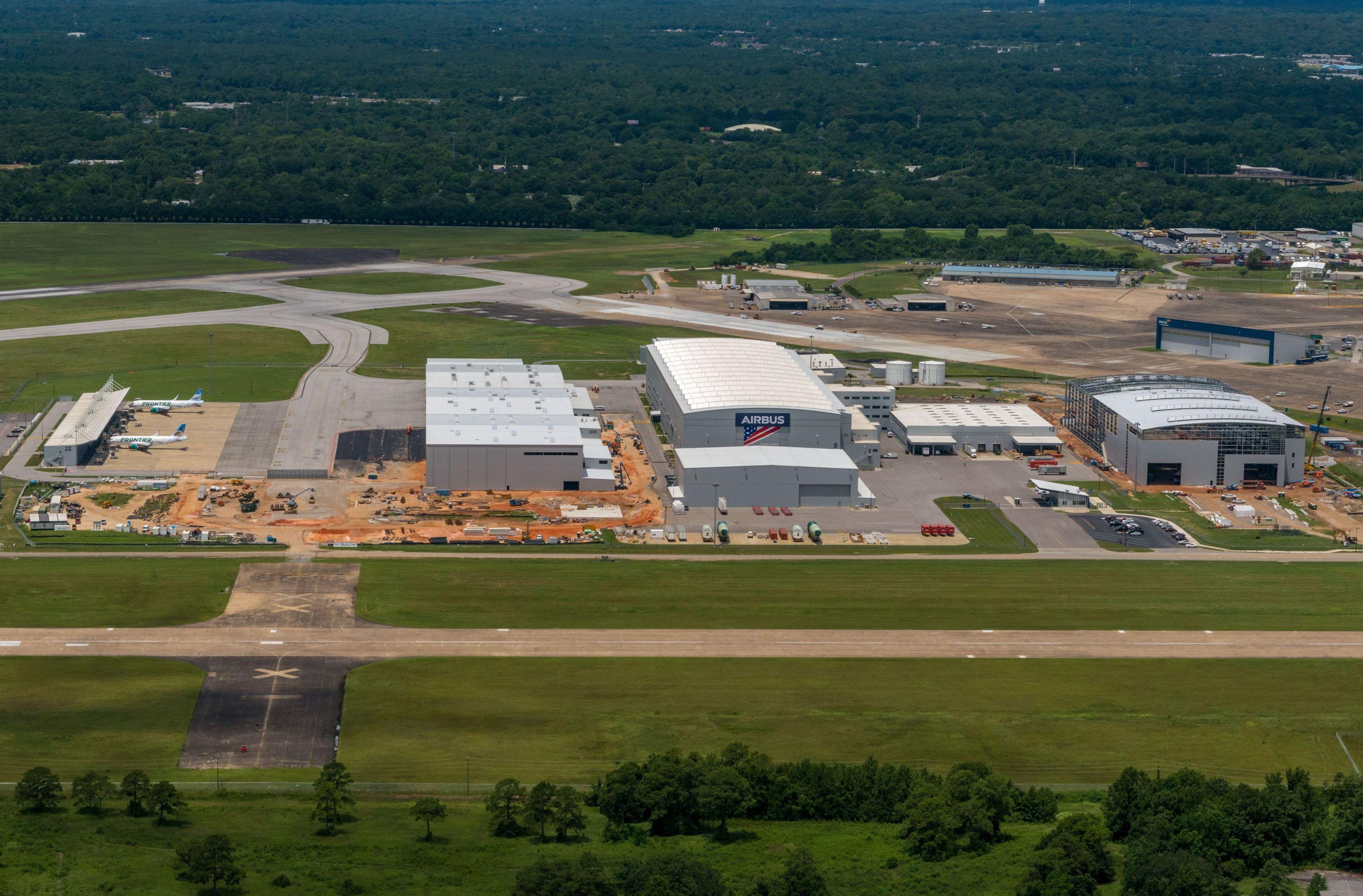 Airbus vil fremover producere A220 i nyt fabriksanlæg i den amerikanske delstat Alabama. Foto: Airbus