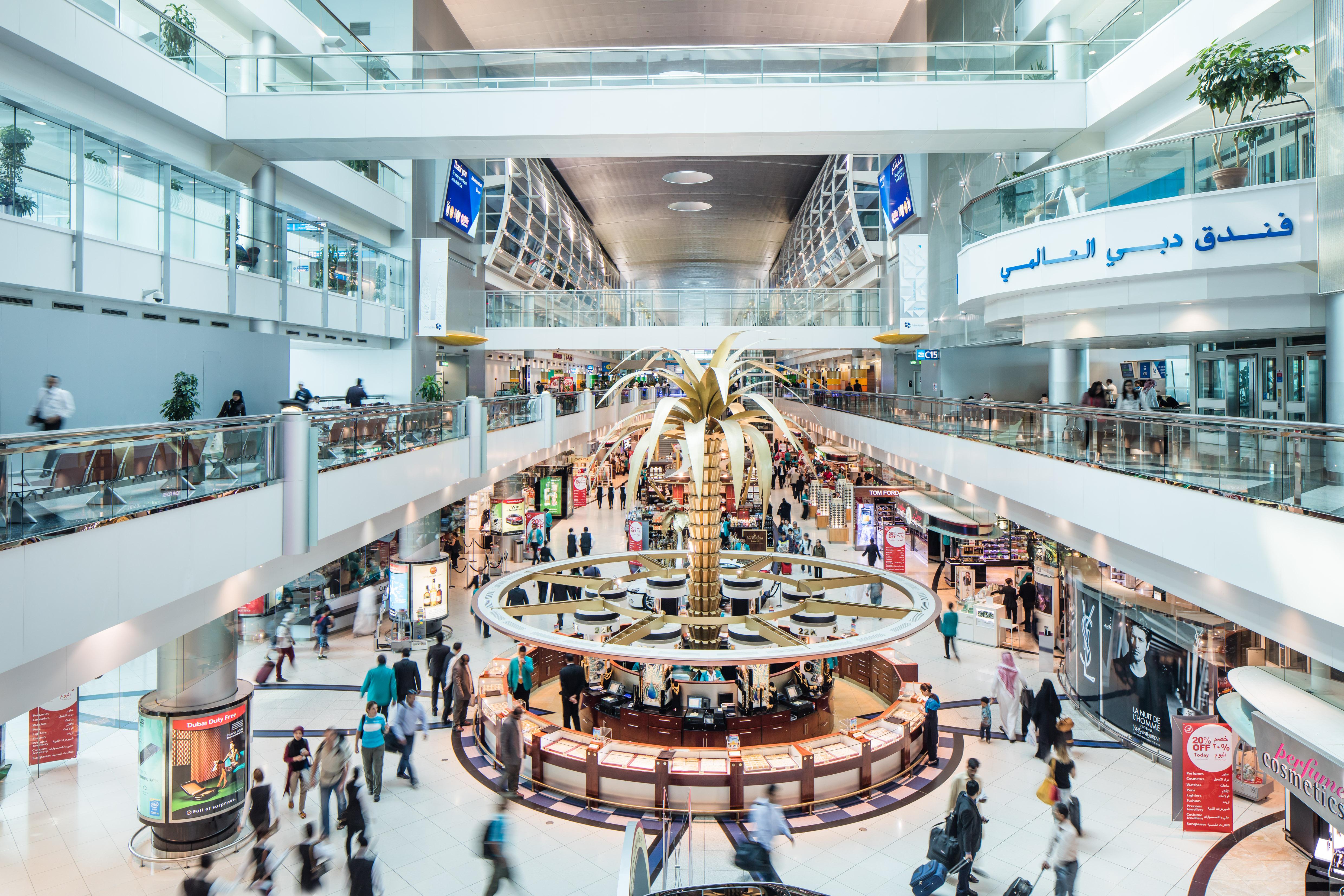 Dubai International Airport mistede mange passagerer i løbet af foråret på grund af en banereparation. Foto: Dubai Airports